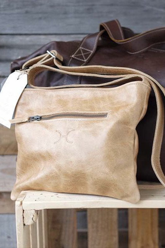 Mini Messenger Handbag Leather