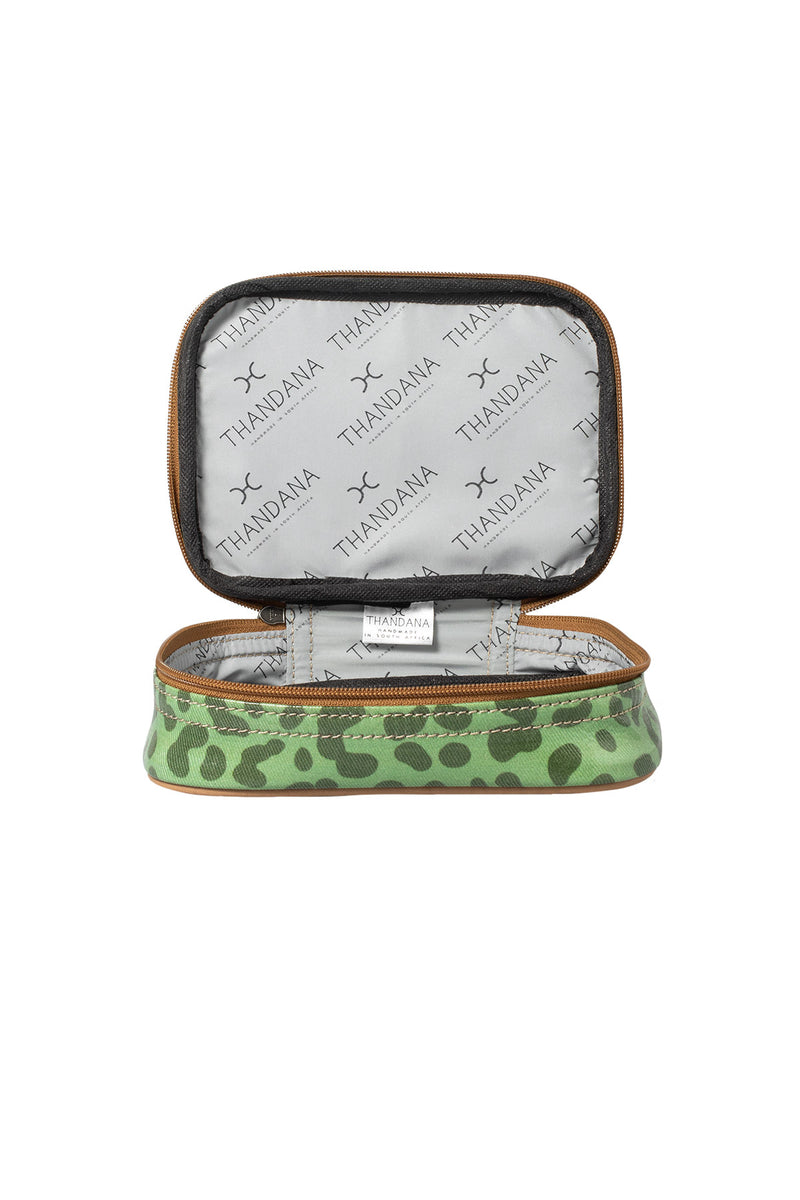 Cosmetic Mini Bag Set Laminated Fabric