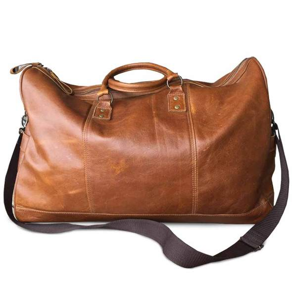 Warrior - Rene Genuine Leather Duffel Bag