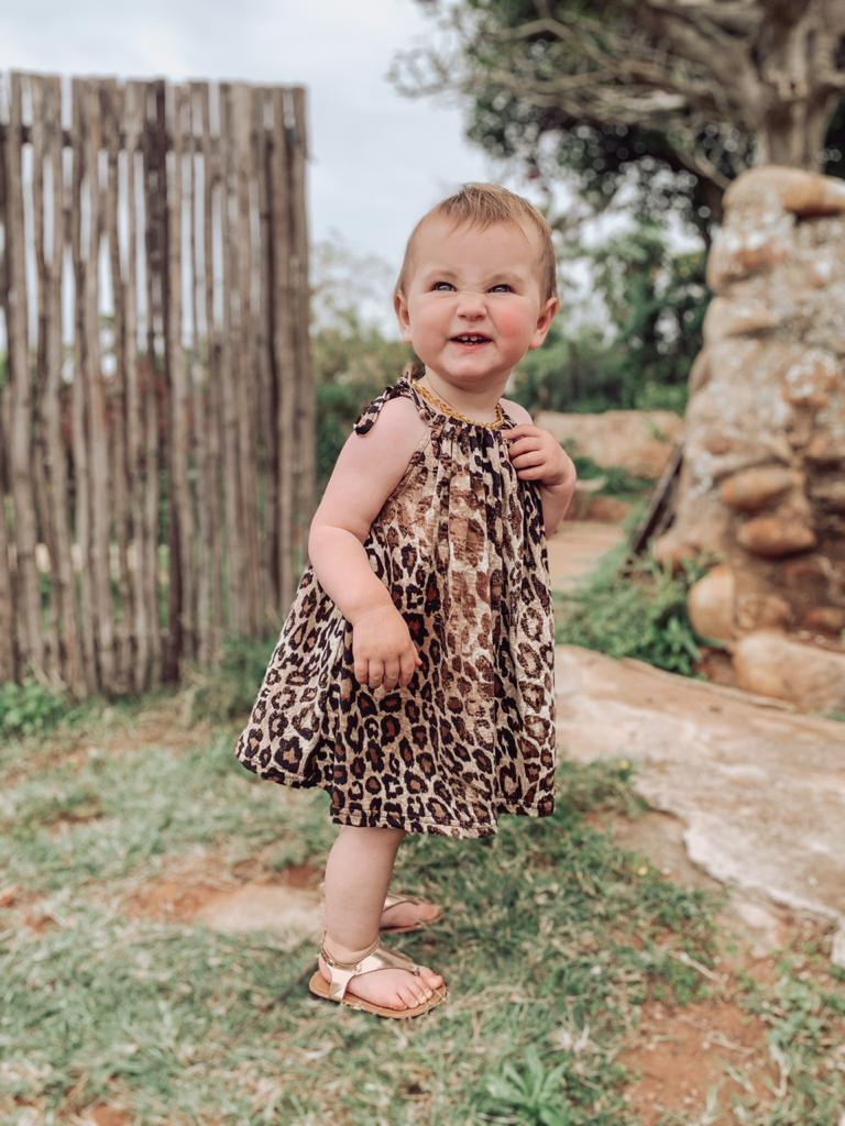 Leopard Print Tots Dress