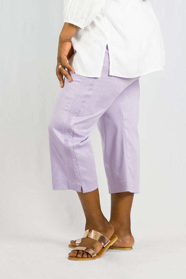 Barrington - Pleated Capri