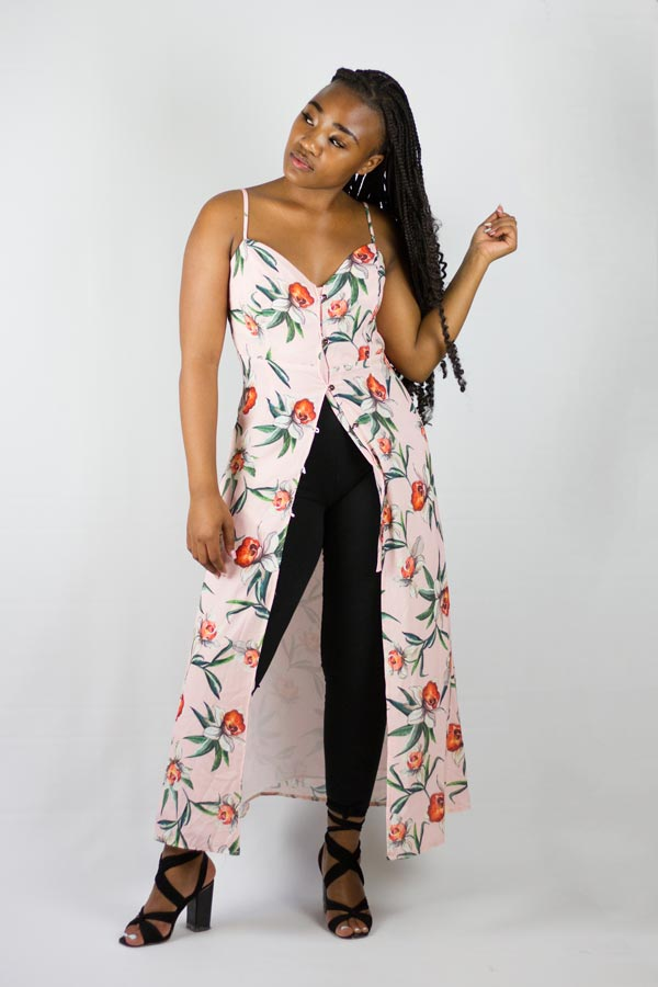 Gee Love It - Button Up Maxi