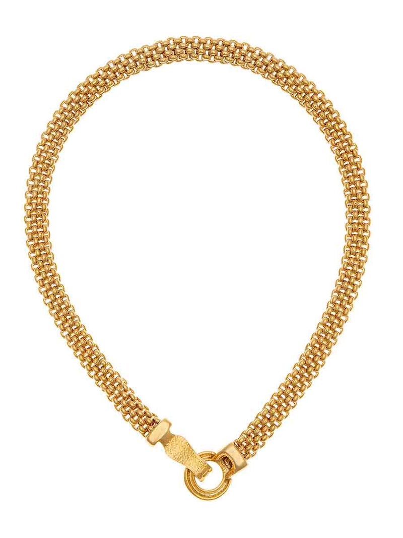 Tifawt Jewellery - Mesh Chain Gold