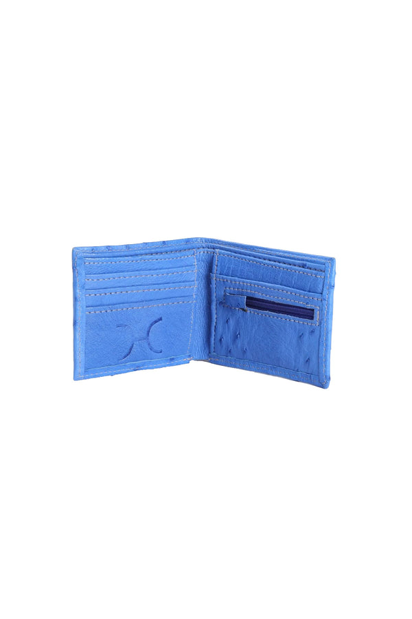 Mens Wallet Volstruis Leather