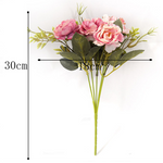 Era DIY Vintage Silk Artificial Rose Flowers