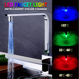 Era LED Colourful Glow Faucet Light
