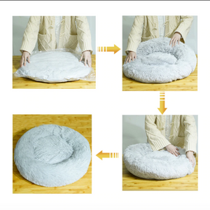 Donut -The Soft cuddler round Bed for pet's.
