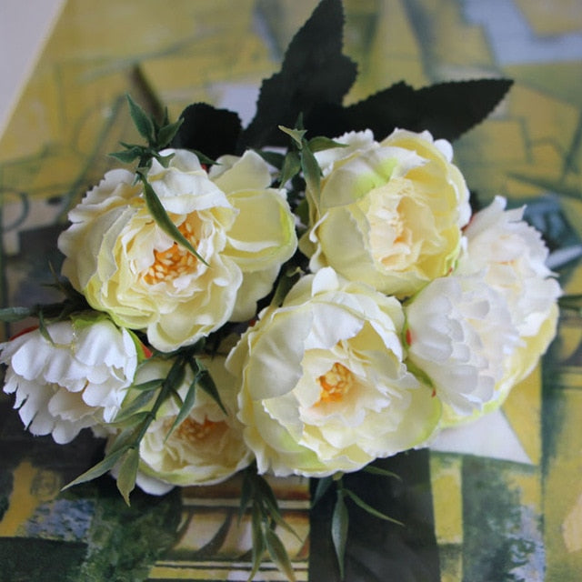 Era Small Peony Silk Flowers