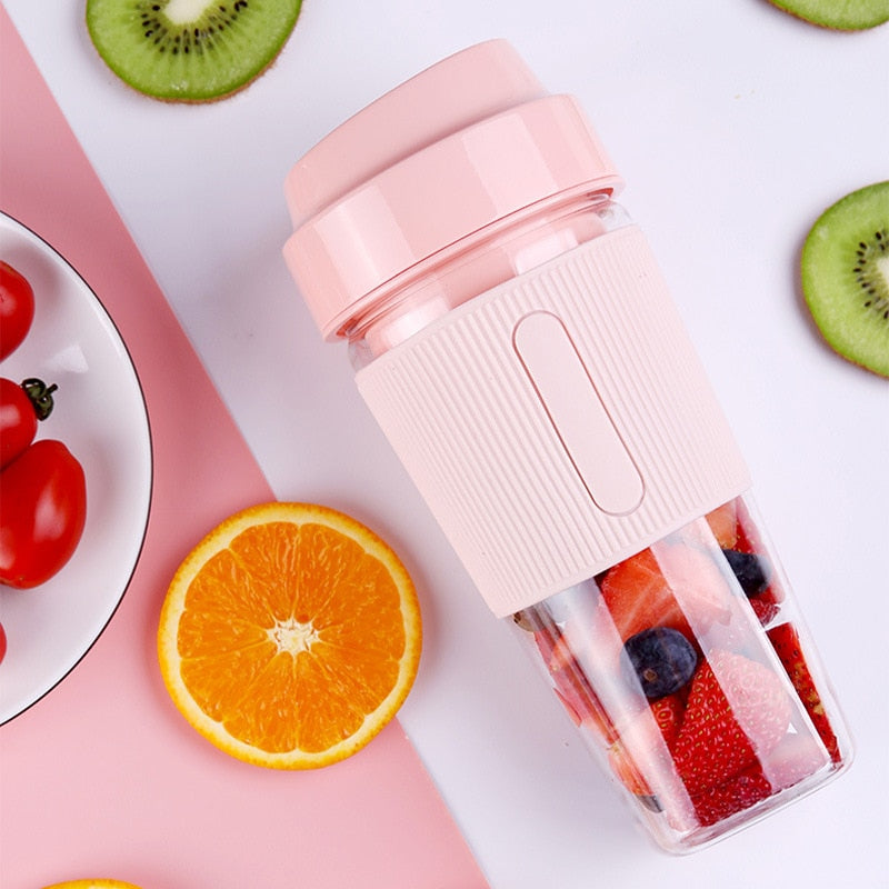 Portable Electric Juicer USB Mini Fruit