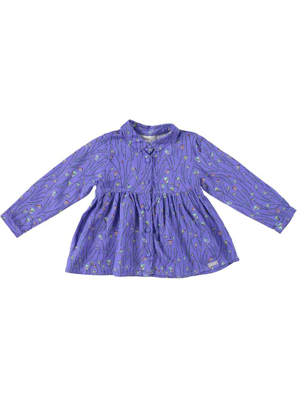 SILK BLOUSE_PURPLE