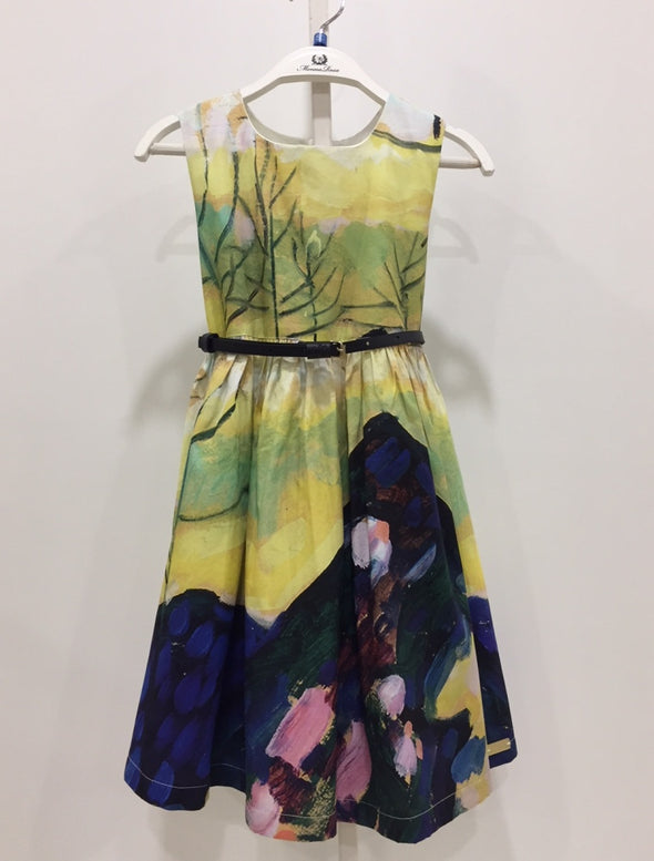 HAND-PAINTED DRESS