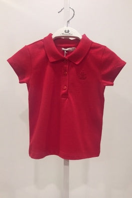 GIRLS CLASSIC SHIRT_RED