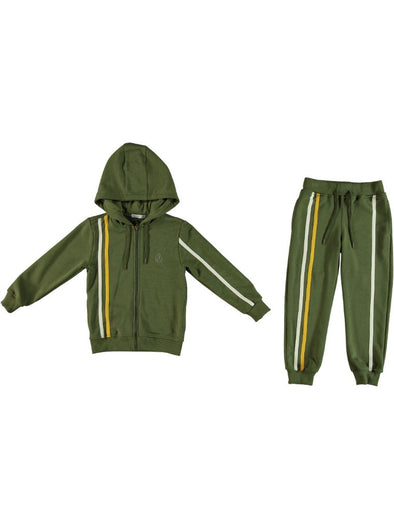 BOYS SWEATSUITS GREEN