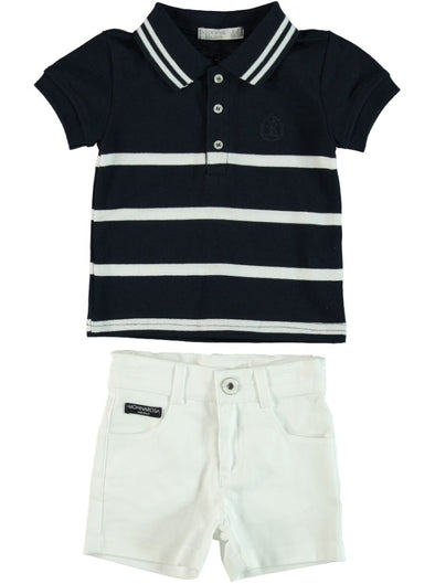 NAUTICAL T-SHIRT AND SHORTS SET