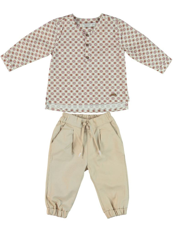 PAXTON PRINT SHIRT + PANTS SET