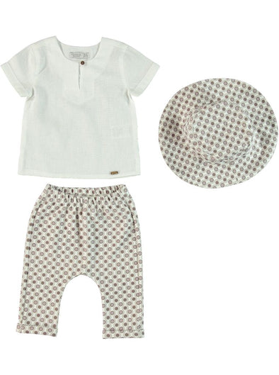 PAXTON PRINT HAT + PANTS SET
