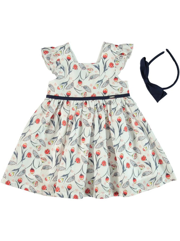 TULIP BOW DRESS