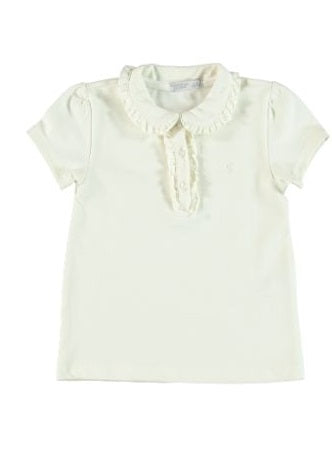 FRILL COLLAR SHIRT_WHITE