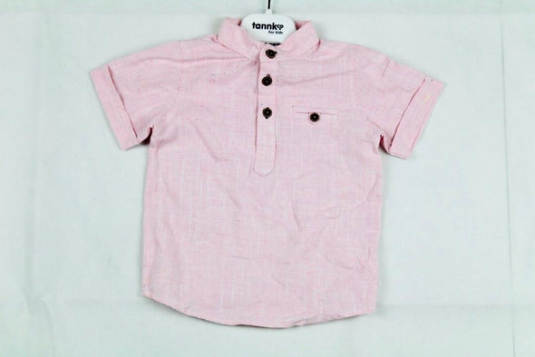 TANNKCO SHORT SLEEVE SHIRT_PINK