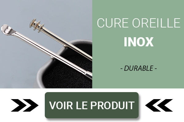 Cure oreille inox durable