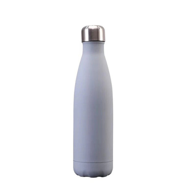 Bouteille inox gris mate