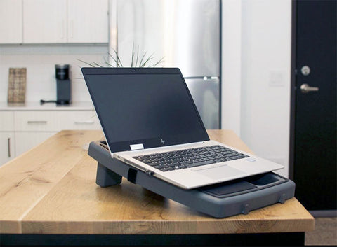 stupid car tray ergonomic laptop stand