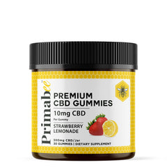 CBD GUMMIES 10 MG  - STRAWBERRY LEMONADE