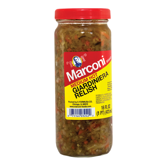 Medium Hot Giardiniera Relish