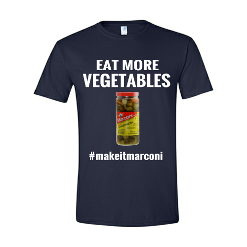 The Marconi Tee Shirt-Navy