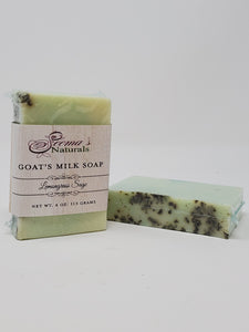 Lemongrass Sage Goat's Milk Soap