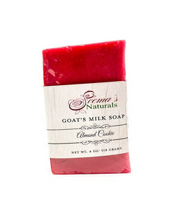 Goat's Milk Soap - Almond Cookie