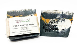 Shea Butter Soap - Black Tie