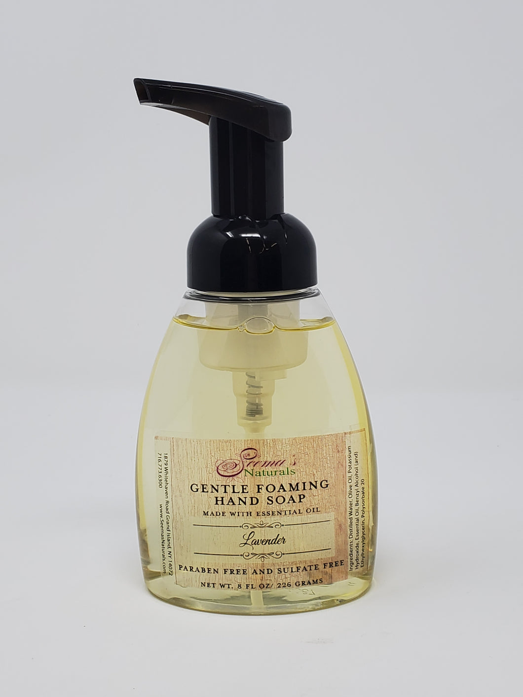Gentle Foaming Hand Soap - Lavender Essential Oil