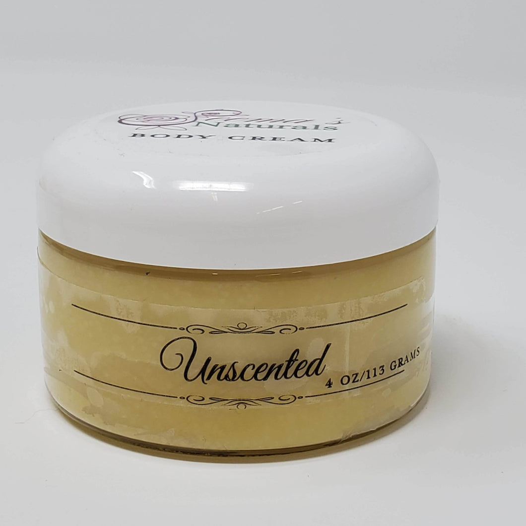 Unscented Body Cream