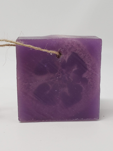 Loofah Soap on Rope - Grape
