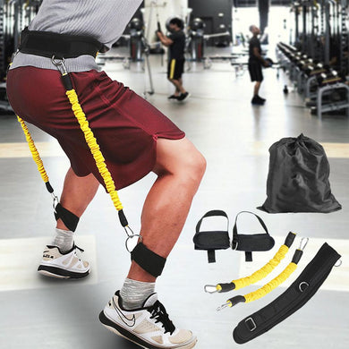 Resistance Bands Crossfit Running Tubes Leg Jump Muscle Training