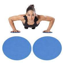 Load image into Gallery viewer, 2PCS Fitness Exercise Sliding Discs  For Yoga Gym Abdominal Core Training