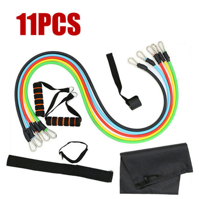 11PCS/ 13PCS Fitness Resistance Bands