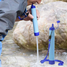 Load image into Gallery viewer, Outdoor Water Purifier Camping Hiking Emergency Life Survival