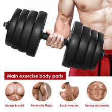 Load image into Gallery viewer, A Pair of 30kg Dumbbell Weight Set