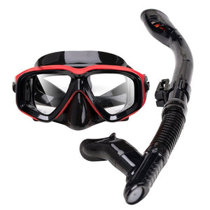 Professional Scuba Diving Mask and Snorkels Anti-Fog Goggles