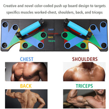 Load image into Gallery viewer, Household Push Up Rack Board 9 System Comprehensive Fitness Exercise Workout