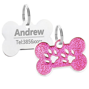 Customized Dogs Cats Collars