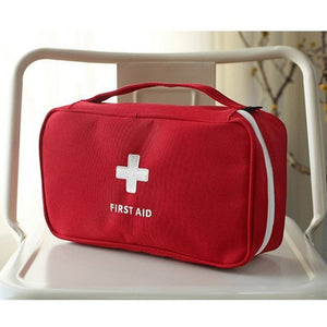 NEW First Aid Kit Emergency Medical First aid kit bag Waterproof Car kits bag Outdoor Travel Survival kit Empty bag
