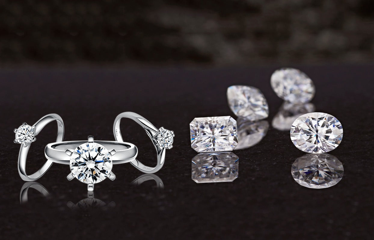Moissanite ! it's characteristic and what are the similarities and differences between a Moissanite and a Diamond || clearopal.com || Explained !!