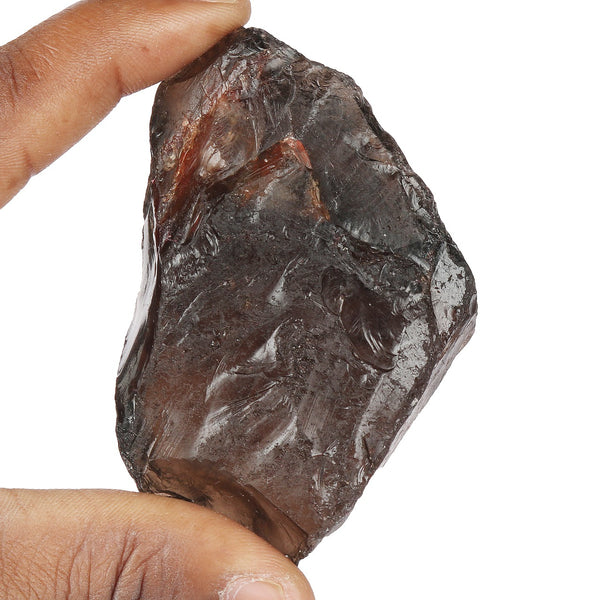 240.00 Carat Natural Raw Quartz Crystal Mineral Smoky Quartz Rough Stone, Untreated Stone, Certified Brown Color Smoky Quartz Gemstone For Home Decor