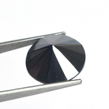 Excellent Round Cut 1.00ct TO 3.00ct Loose Black Moissanite Stone, Certified Black Moissanite for Ring & Pendant