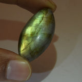 Certified Natural Rainbow Color Labradorite Loose Gemstone 30.50 Ct. Brilliant Marquise Cabochon Labradorite Gemstone Jewelry Making DG-488
