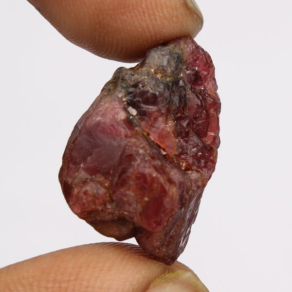 03.00 Carat Rough Red Spinel Gemstone, Raw Crystal Certified Rock Stone 100% Natural Red Spinel Healing Gem for Jewelry