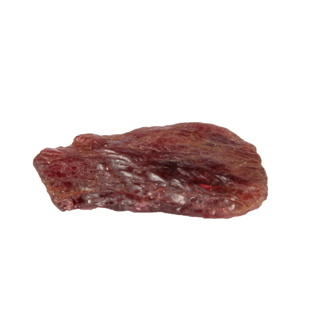Natural Red Spinel Stone 03.00 Carat. Uncut and Natural Red spinel Crystal, Certified Rough Spinel Red Loose Gemstone for Jewelry Making
